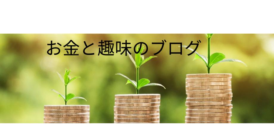 お金と趣味のブログ (1)